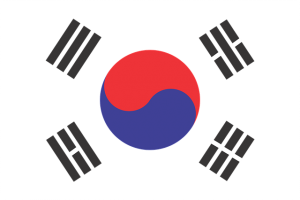 south koreea flag