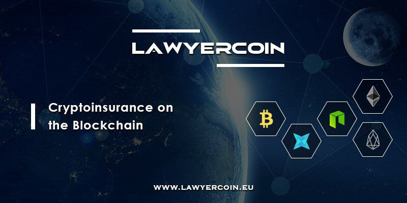Cryptoinsurance with LawyerCoin