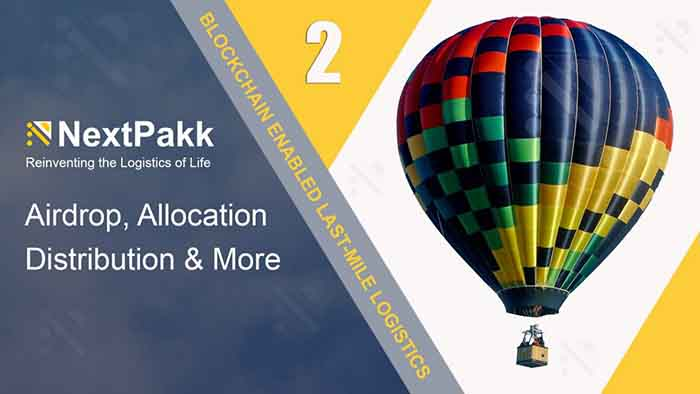 Enter NextPakk Official Airdrop Round 2 for your chance to win 200 PAKKA