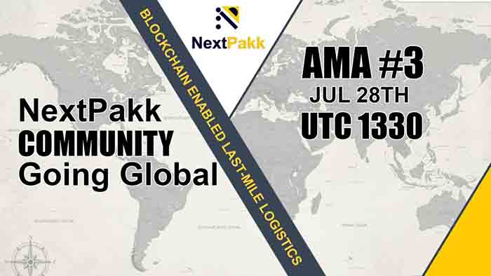 NextPakk community is going global