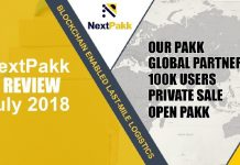 nextpakk update july 2018