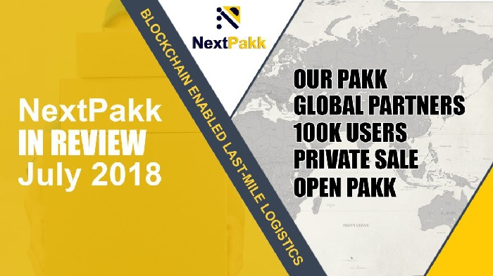 NextPakk has passed a new milestone with over 100,000 registered users on their platform